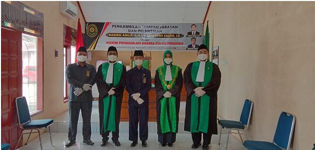 pelantikan Hakim 1
